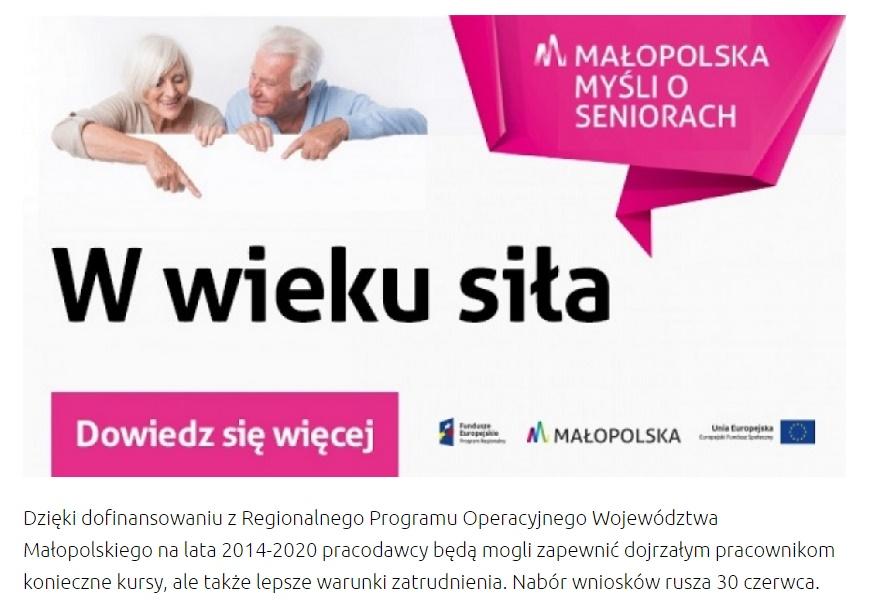 Kursy dla seniorów- Nabór wniosków rusza 30 czerwca