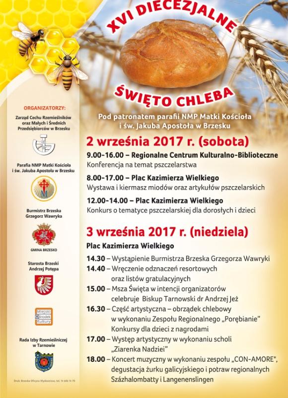 XVI Diecezjalne Święto Chleba