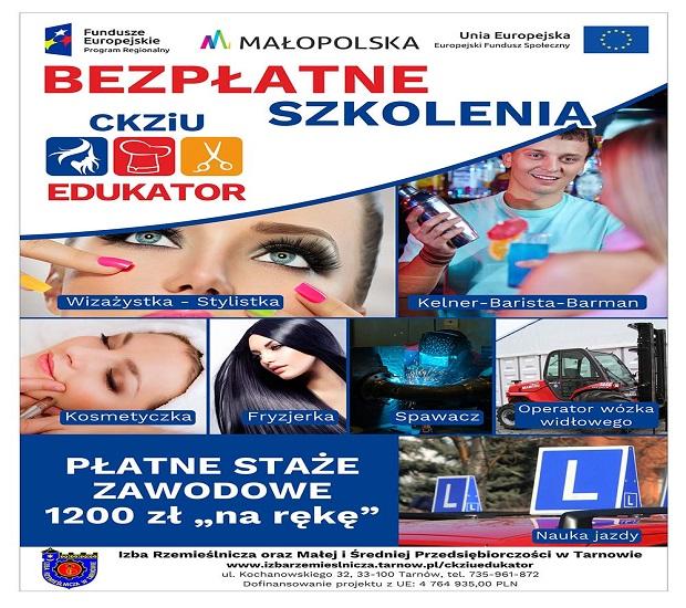 """Projekt """" CKZiU EDUKATOR"""""""