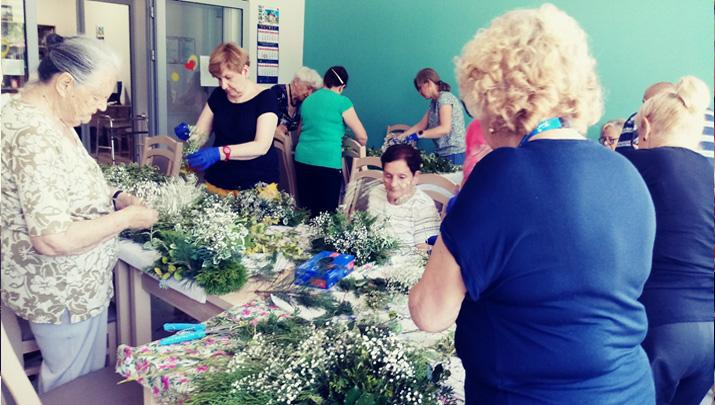 Prace w kwiatach